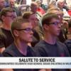 CBS News Spotlight: Communities celebrate high school grads who enlist in the military
